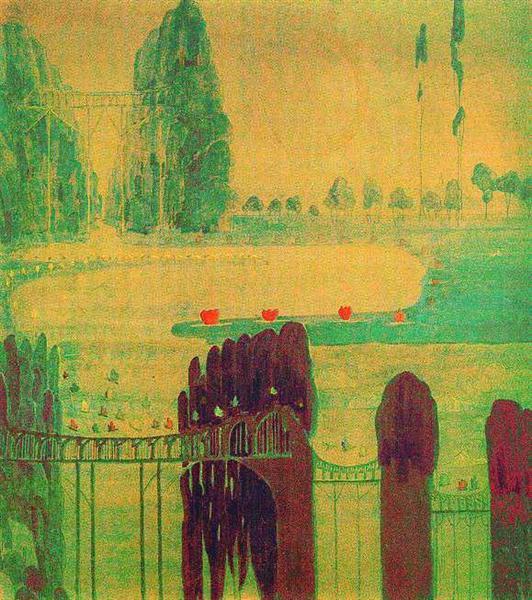 Scherzo (Sonata of the Sun), 1907 - Mikalojus Konstantinas Ciurlionis