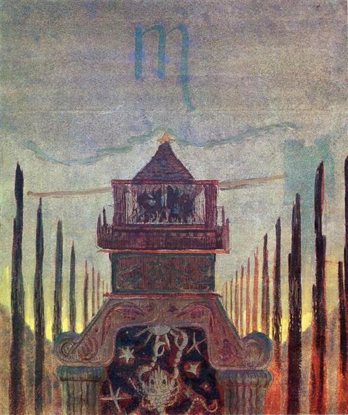 Scorpio, 1907 - Mikalojus Konstantinas Ciurlionis