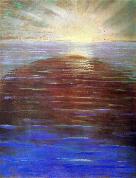 Sunrise, 1904 - Mikalojus Konstantinas Ciurlionis