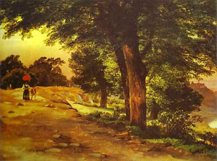 In Giji Park, 1837 - Mikhail Lebedev