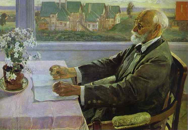 Ivan Petrovich Pavlov, 1935 - Mikhail Nesterov