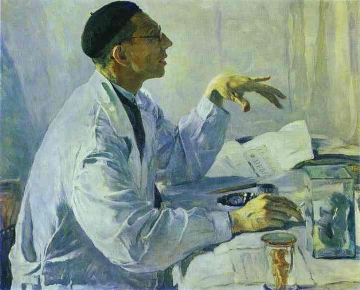 Portrait of S. S. Yudin, 1935 - Михаил Нестеров