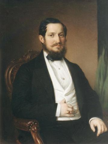 Portrait of János Matta, 1860 - Miklos Barabas