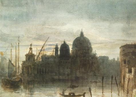 Venice at Dusk, 1834 - Miklós Barabás