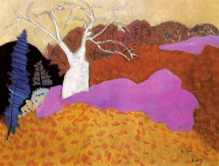 Autumn, 1944 - Milton Avery