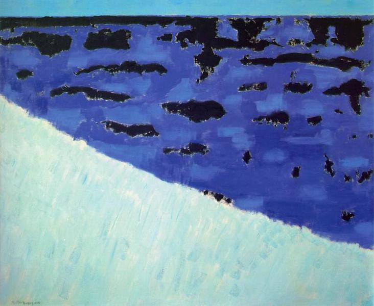 Sea Grasses and Blue Sea - Milton Avery