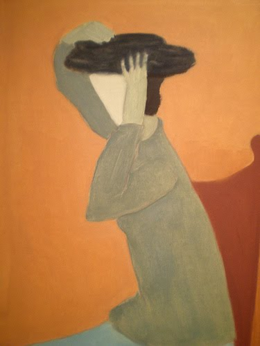 Woman with a Hat, 1945 - Milton Avery