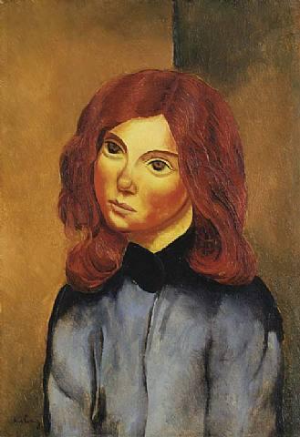 Red-haired girl, 1918 - Moise Kisling