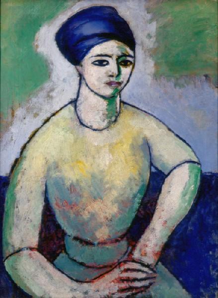 Study of a Girl (Fanette Reider), 1911 - Morton Schamberg