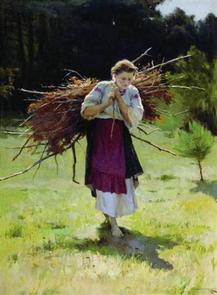 From the Forrest - Mykola Pymonenko