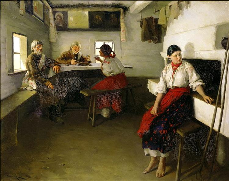 Go-betweens, 1882 - Mykola Pymonenko