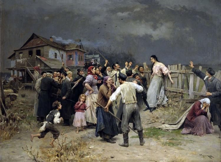Victime of fanatisme, 1899 - Mykola Pymonenko