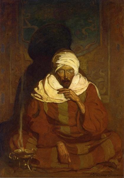 A Hindu Mystic, 1912 - N.C. Wyeth