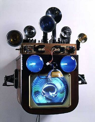 Fractal Flasher, 1994 - Nam June Paik