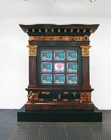 TV is New Heart, 1989 - Нам Джун Пайк