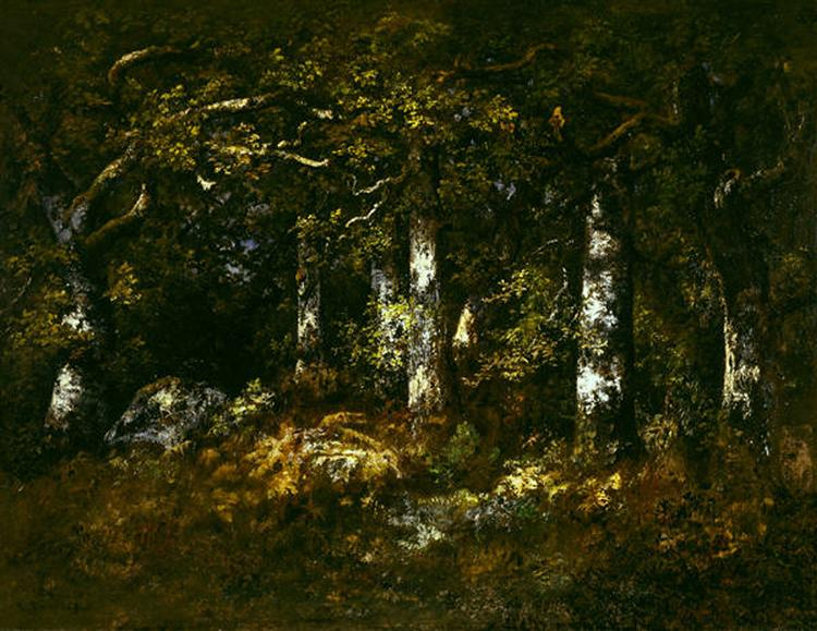 Forest of Fontainebleau, 1868 - Нарсіс Діаз
