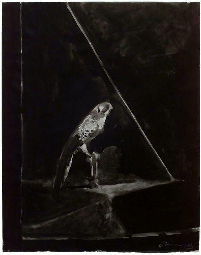 Hawk, 1989 - Nathan Oliveira