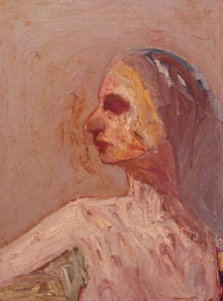 Head, 1967 - Nathan Oliveira