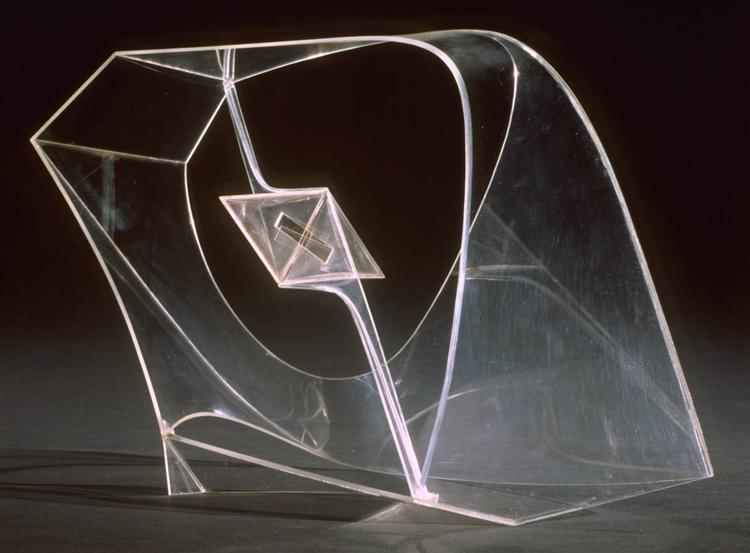 Construction in Space with Crystalline Centre, 1940 - Naum Gabo