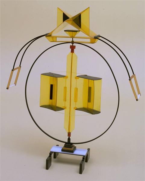Model for 'Rotating Fountain', 1925 - Naum Gabo