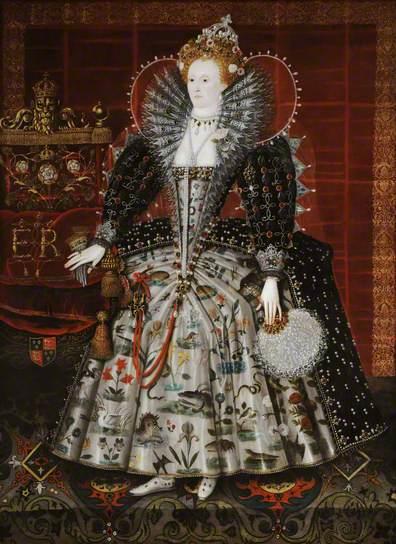 Elizabeth I, 1592 - Nicholas Hilliard