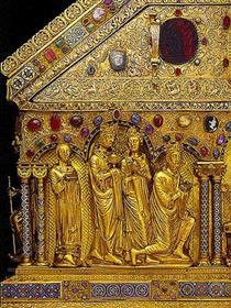 The Three Kings with King Otto IV - Nicholas of Verdun