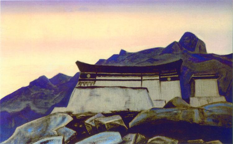 Castle of King Gesar, 1929 - Nicholas Roerich