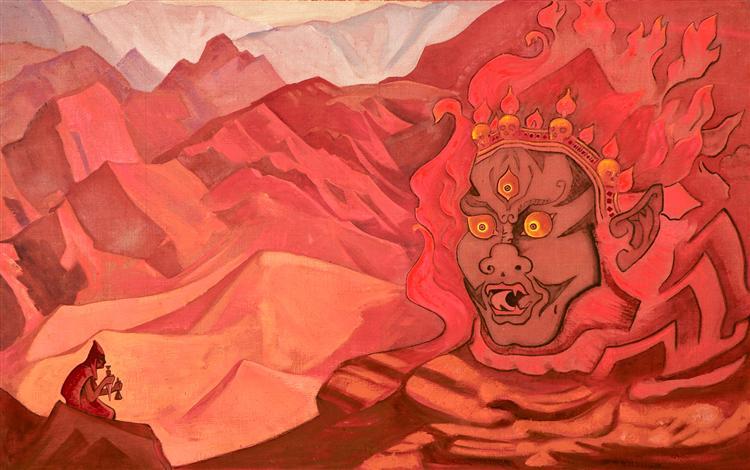 Dorje the Daring One, 1925 - Nicholas Roerich