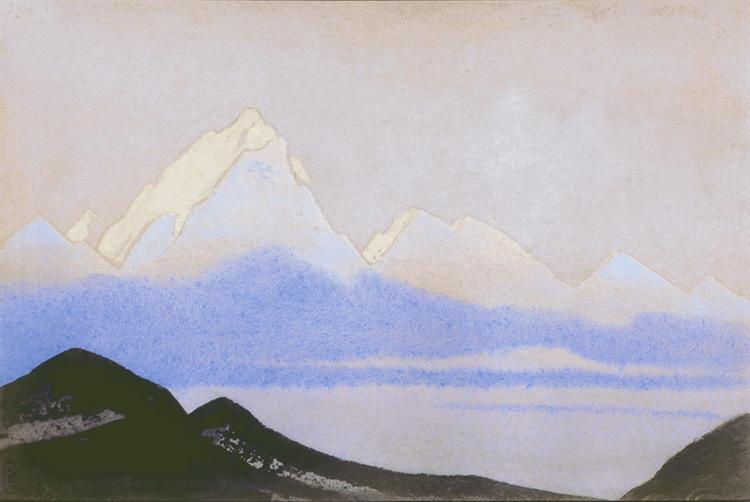 Himalayas [Terrestrial and celestial], 1940 - Nicholas Roerich