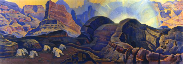 Miracle, 1923 - Nicholas Roerich