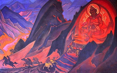 Order of Rigden Jyepo, 1947 - Nicholas Roerich