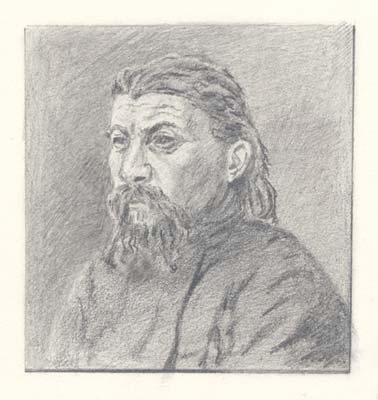 Priest from Gryzovo, 1893