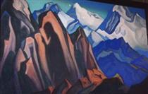 Shadow of the Teacher - Nicholas Roerich