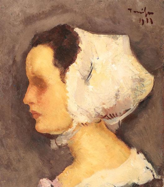Breton Woman, 1933 - Nicolae Tonitza