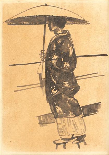 Japanese - Nicolae Tonitza