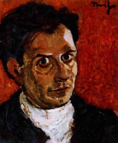 Self-Portrait, 1923 - Nicolae Tonitza