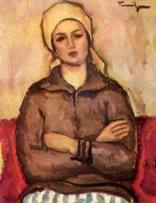 Workwoman - Nicolae Tonitza
