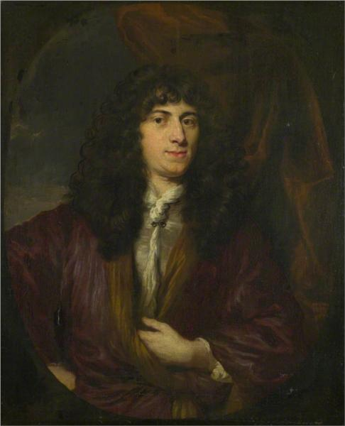 Portrait of a Man in a Black Wig, 1680 - Николас Мас