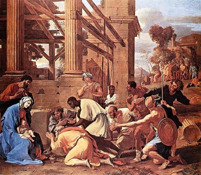Adoration of the Magi, 1633 - Nicolas Poussin