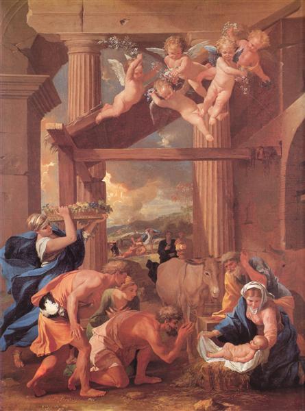 Adoration of the Shepherds, 1633 - 1634 - Nicolas Poussin