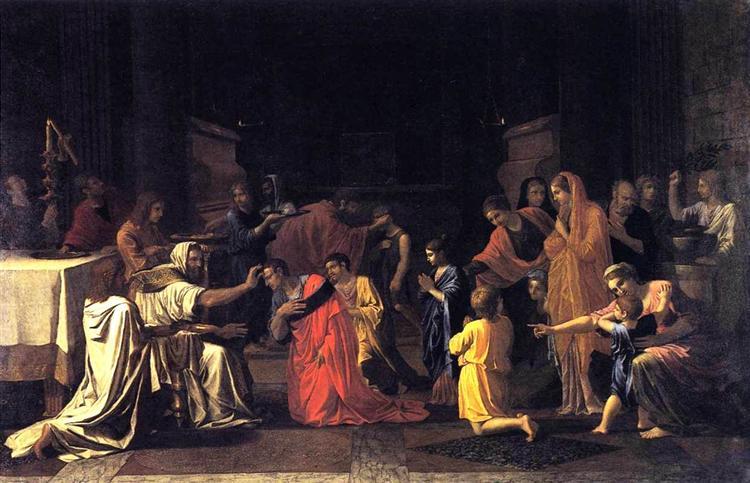 Confirmation, 1645 - Nicolas Poussin