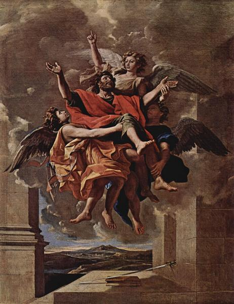 The Vision of St. Paul, 1649 - 1650 - Nicolas Poussin