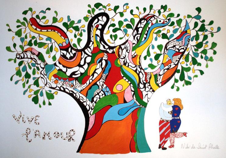 Vive l'amour - Niki de Sainte Phalle