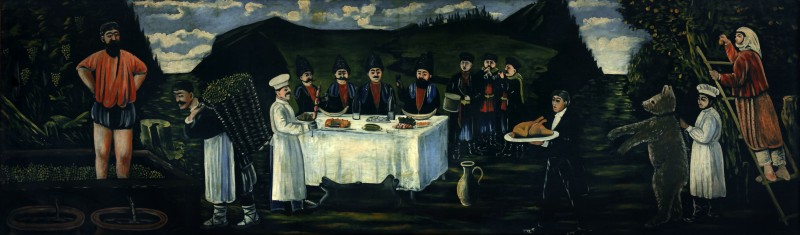 The feast in vintage, 1906