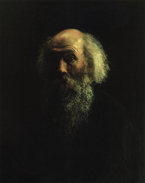 Self-Portrait, 1892 - Nikolai Ge