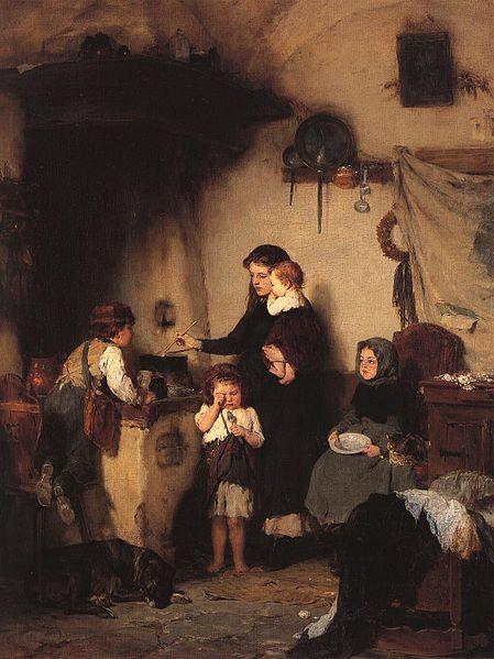 The orphans, 1871 - Nikolaos Gyzis