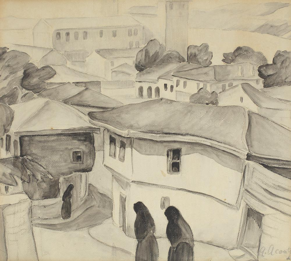 Tatar Women in Balcic