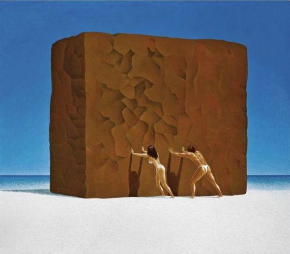 Push, 2003 - Nyoman Masriadi