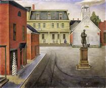 Town Square - O. Louis Guglielmi