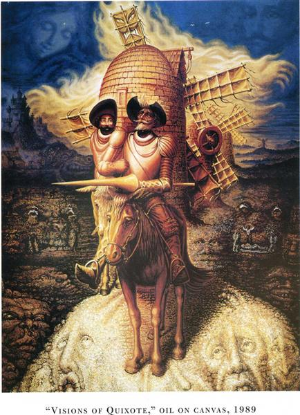 Visions of quixote, 1989 - Октавіо Окампо